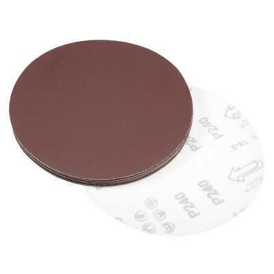 AU15.04 • Buy 7 Inch Sanding Disc 240 Grits Flocking Sandpaper For Sander 10 Pcs