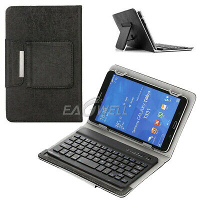 AU28.99 • Buy AU For 7  8  10  10.1  Tablets Universal Folio Leather Case Keyboard Stand Cover