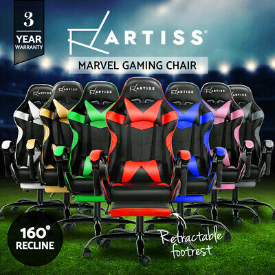 AU169.90 • Buy Artiss Gaming Chair Office Executive Desk Chairs Seating Racing Recliner Racer