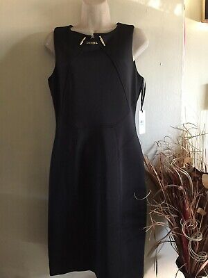 $ CDN35.44 • Buy Ivanka Trump Women's Sleeveless Dress Size 8 Color Black.brand New