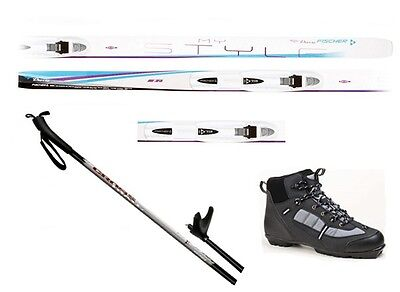 $ CDN334.28 • Buy NEW FISCHER MY STYLE Cross Country NNN SKIS/BINDINGS/BOOTS/POLES PACKAGE - 159cm