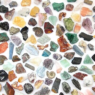 £1.49 • Buy CRYSTAL NATURAL ROUGH STONE  MINERAL SPECIMEN 10g PICK N MIX Collectors Healing