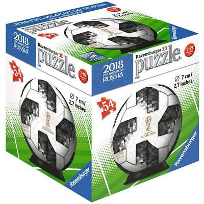 $12.99 • Buy NEW Ravensburger 2018 FIFA World CUP RUSSIA -3D Puzzle Ball  54 Pieces