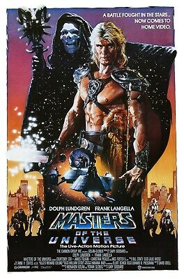 $11.99 • Buy Masters Of The Universe Movie Poster (b) - Dolph Lundgren Poster