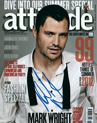 £43.25 • Buy Mark Wright Model Actor Signed 8x10 Autographed Photo COA Look