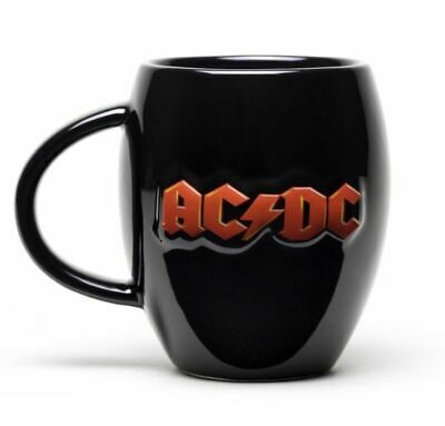 £12.95 • Buy Official Ac/dc Ac Dc 3d Logo Large Oval Coffee Mug Cup New In Gift Box