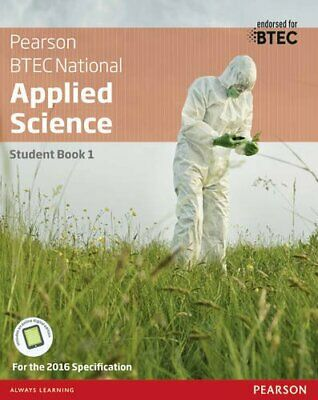 £20.87 • Buy BTEC Level 3 Nationals Applied Science Student Book 1 (BTEC Nationals Applied.