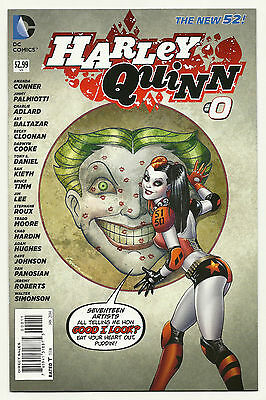 $ CDN18.13 • Buy Harley Quinn #0 Unread Near Mint First Print New 52