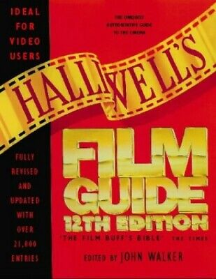 Halliwell's Film And Video Guide Hardback Book The Cheap Fast Free Post • 5.99£