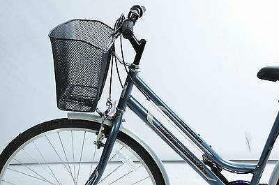 £14.99 • Buy Pet Carrier For Front Of Bike.wire Mesh With Headset Fork Fittings Strong Stable