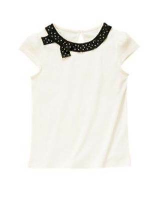 $11.95 • Buy NWT Gymboree Bee Chic Bow Ribbon Top Shirt 5