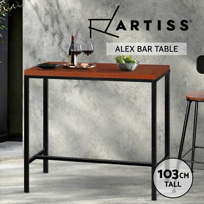 View Details Artiss Vintage Industrial High Bar Table  • 109.00AU