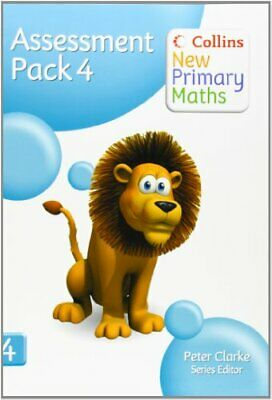 Collins New Primary Maths - Assessment Pack 4 Spiral Bound Book The Cheap Fast • 7.49£