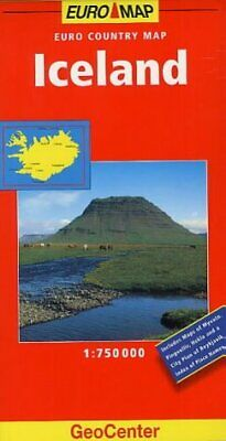 Iceland (GeoCenter Euro Map), , Used; Good Book • 27.86£