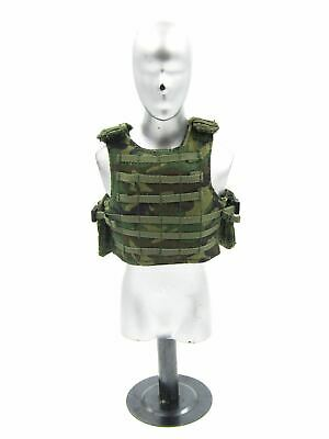 $17.10 • Buy 1/6 Scale Toy USMC - Expeditionary Unit - Camo Plate Carrier W/Strike Plates