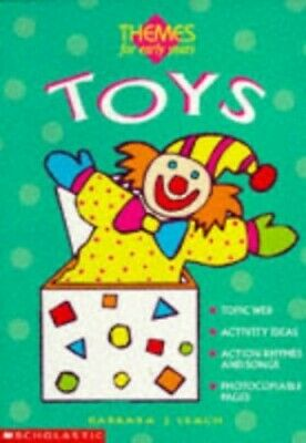 £1.99 • Buy Toys (Themes For Early Years) By Leach, Barbara J. Paperback Book The Cheap Fast