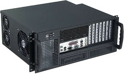 AU210.60 • Buy 4U (Front Access) (18  Rail)(2x5.25 + 6x3.5 Bay)(Rackmount Chassis)(14  Case)NEW
