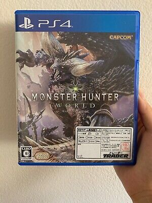 AU40 • Buy モンスターハンワールド PS4 Monster Hunter: World Japan Import Japanese Version 日本語
