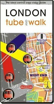 £5.99 • Buy London Tube And Walk By Quickmap Sheet Map, Folded Book The Cheap Fast Free Post