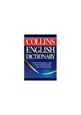 £3.49 • Buy Collins English Dictionary By Unknown Hardback Book The Cheap Fast Free Post