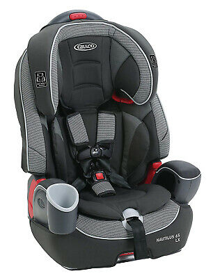 £130.93 • Buy Graco Baby Nautilus 65 LX 3-in-1 Harness Booster Car Seat Child Safety Conley