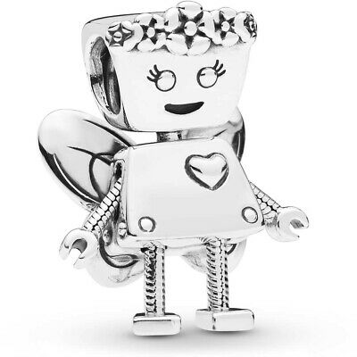 £10.95 • Buy Real 925 Silver LIMITED EDITION FLORAL BELLA BOT CHARM Fits European Bracelet
