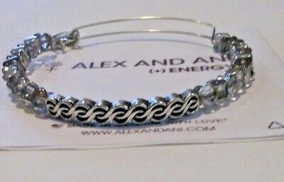 £29.15 • Buy Alex And Ani Prism Winding Road Indie Spirit Russian Silver Exp Bracelet ❤️