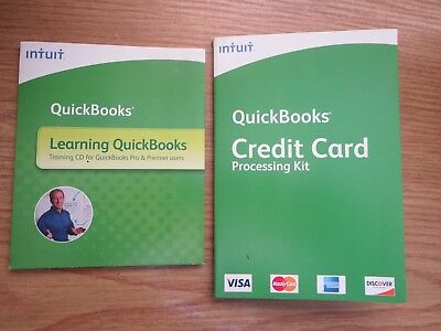 £12.03 • Buy Intuit QuickBooks Credit Card Processing Kit AND Learning Quickbooks 2008