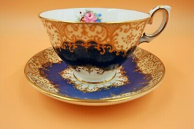 Beautiful Large Antique Crown Staffordshire Tea Cup & Saucer.Duo. C1900. A13990. • 35£