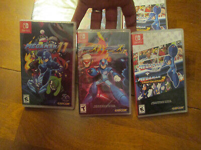 $118.31 • Buy Mega Man X Legacy Collection 1 + 2  & 11 Nintendo Switch LOT SET 3 GAMES NEW
