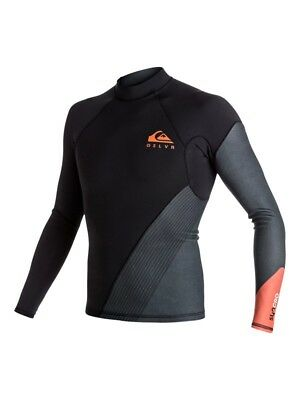 $57 • Buy QUIKSILVER Men's 1mm SYNCRO NEW WAVE L/S Wetsuit Top - NMJ0 - Small - NWT