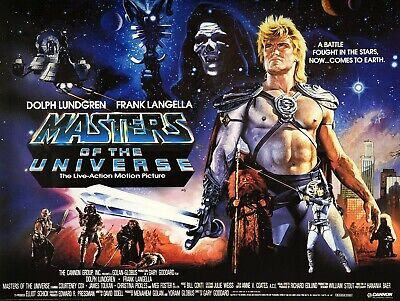 $11.99 • Buy Masters Of The Universe Movie Poster (c) - Dolph Lundgren Poster - 12 X 16