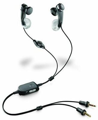 Plantronics Audio 440 In-The-Ear Multimedia 2 X 3.5mm Headphones For Skype Chat • 15.42£