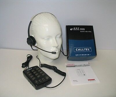 £31.13 • Buy CallTel CT-1000 Feature Headset Tone Dialing Telephone For SOHO And Call Centers