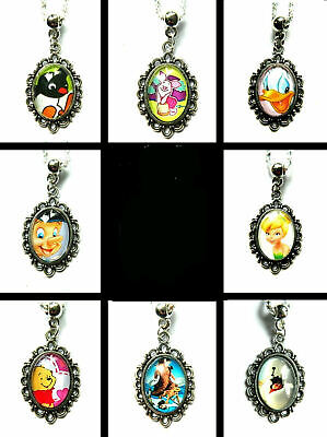 £3.99 • Buy Cartoon Character Necklace Charm Pendant