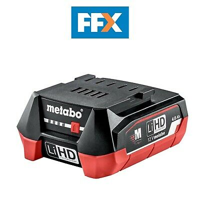 £32.99 • Buy Metabo 625349000 12v 4.0Ah LiHD Battery Pack Ultra-M Technology Air Cooled
