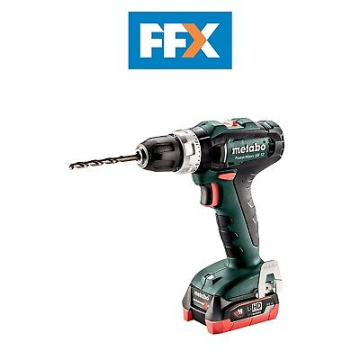 Metabo 601076800 12v 2x4.0Ah LiHD Combi Hammer Drill In Case • 165.50£
