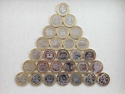 £2 Coins Various Types Including Rare Olympic - Commonwealth Two Pound Coins • 6£