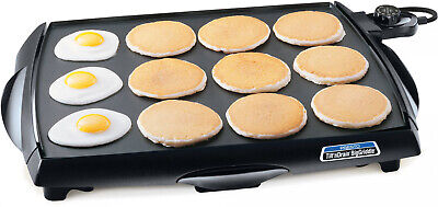 $72.67 • Buy Electric Griddle Bbq Grill Indoor Barbecue Non Stick Cooker Eggs Meat Table Top