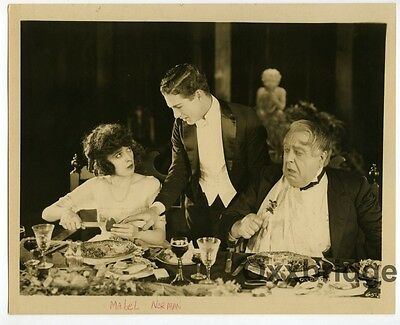$99 • Buy MABEL NORMAND Pre-Code DBL WEIGHT Photo PINTO 1920 Risque Western ComedyJ4073