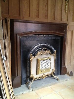Antique Mahogany Fire Surround Rustic Requires Cosmetic Renovation Paint • 179£