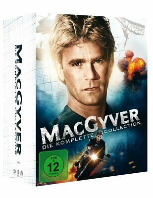 $111.41 • Buy Complete Box Set Macgyver 1985 - 1992 The TV Series 38 DVD Edition