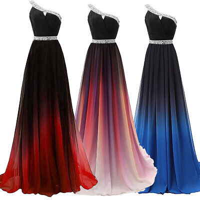 AU98.98 • Buy NEW Evening Formal Party Ball Gown Prom Bridesmaid Gradual Host Long Dress 4-22