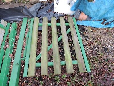 1 Set Metal Gates Plus 2 Single Gates With Hanging Posts-catches May Be Needed • 80£