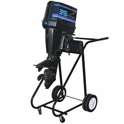 AU182.41 • Buy 315lb 115hp Outboard Boat Motor Stand Carrier Cart Dolly