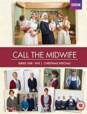Call The Midwife Series 1-5 Complete [DVD] - DVD  Z8VG The Cheap Fast Free Post • 23.70£