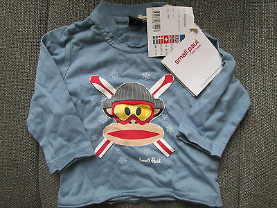 £12.99 • Buy Small Paul Frank Baby Boys Long Sleeved Top Monkey Design Age 6-9m Rrp £29 New