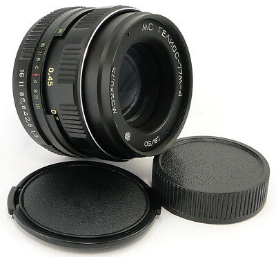 AU195.19 • Buy ⭐NEW⭐ Russian LOGO MC HELIOS 77m-4 50mm F/1.8 Russian Lens Screw Mount M42 44-2