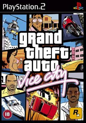 £5.86 • Buy Grand Theft Auto: Vice City (PS2) - Game  BVVG The Cheap Fast Free Post