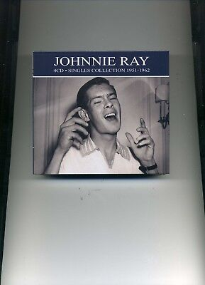 Johnnie Ray - Singles Collection - 1951 - 1962 - 4 Cds - New!! • 7.95£